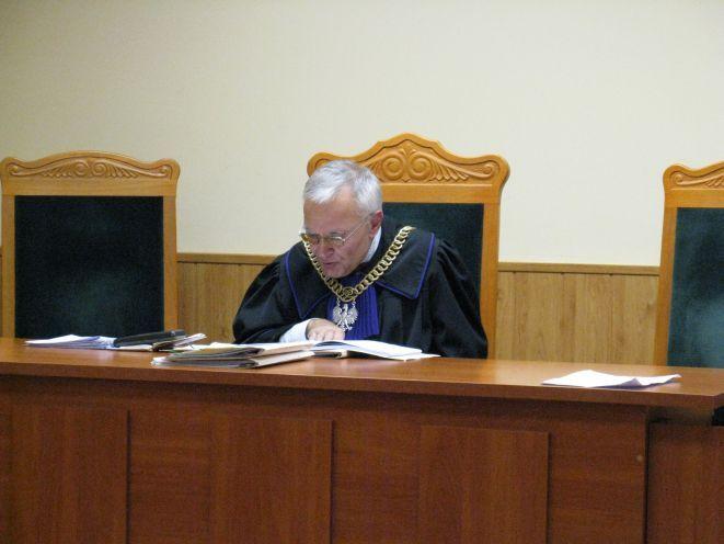 Sędzia Józef Kremis.