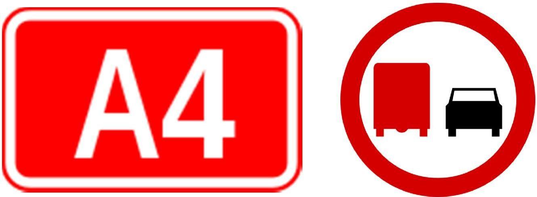 Na kilku odcinkach A4 między Wrocławiem a Krzywą ciężarówki nie mogą się wyprzedzać