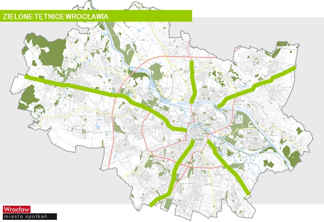Pięć głównych arterii wjazdowych do Wrocławia zamieni się w zielone tętnice