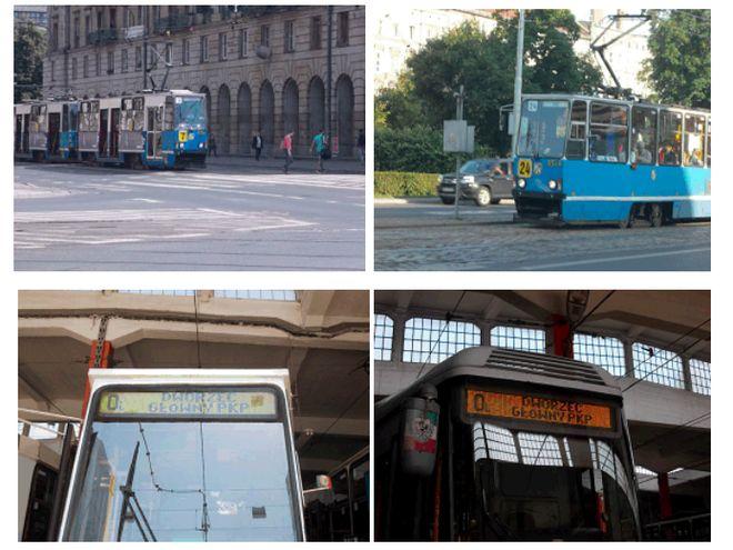 Żółte wyświetlacze i tablice będą sygnalizować, że tramwaj zmienił swoją stałą trasę