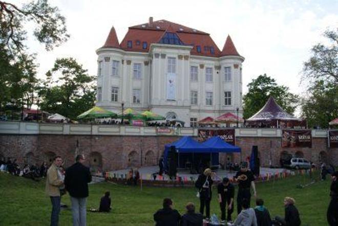 Zamek w Leśnicy