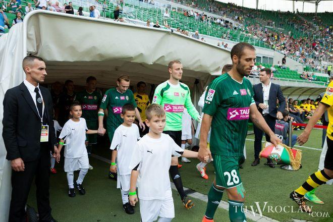 Zwycięstwo w prezencie na urodziny kapitana. Śląsk Wrocław – Korona Kielce 1:0