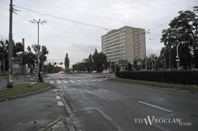 Remontowana od kilku lat jest m.in. ulica Ślężna