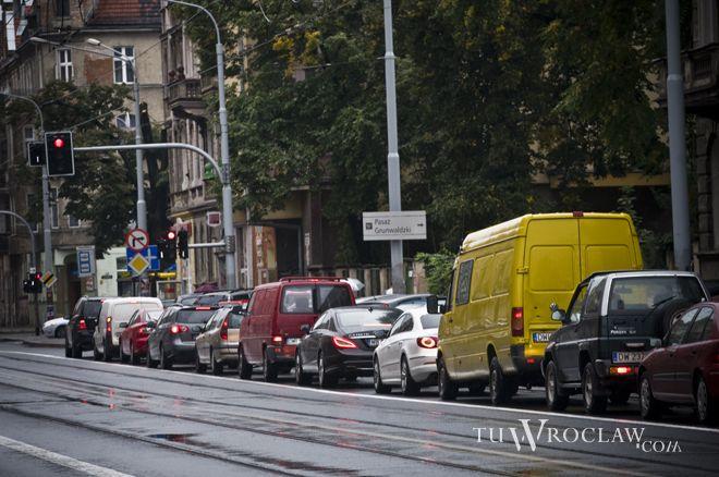 Wrocław niezmiennie jest zakorkowany