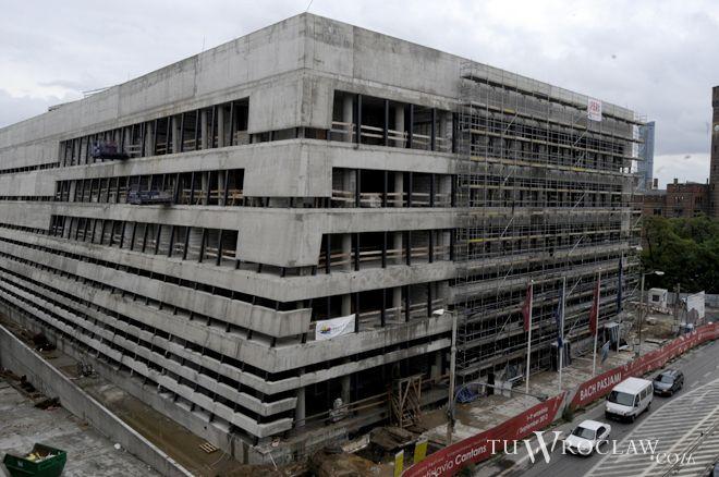 Narodowe Forum Muzyki zostanie oddane do użytku dopiero w 2014 roku