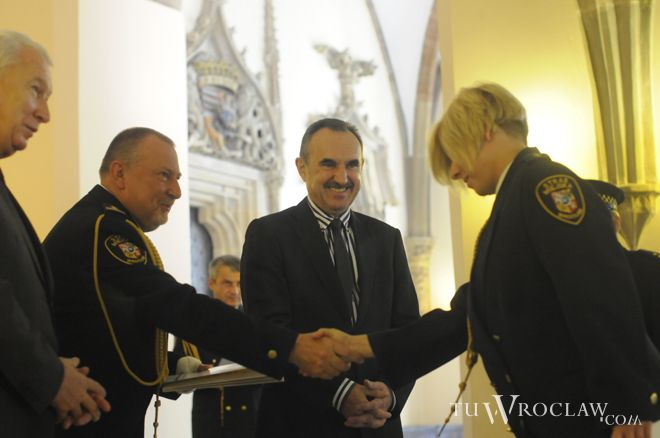 Wiceprezydent Wrocławia Wojciech Adamski uważa, że likwidacja straży miejskiej byłaby pozorną oszczędnością