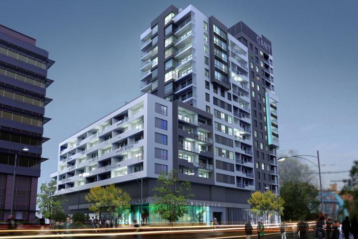 Bank Millennium dał 57,5 mln zł kredytu na budowę Odra Tower przy Sikorskiego, wizualizacje inwestora