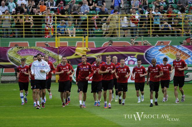 Czescy piłkarze zostają we Wrocławiu