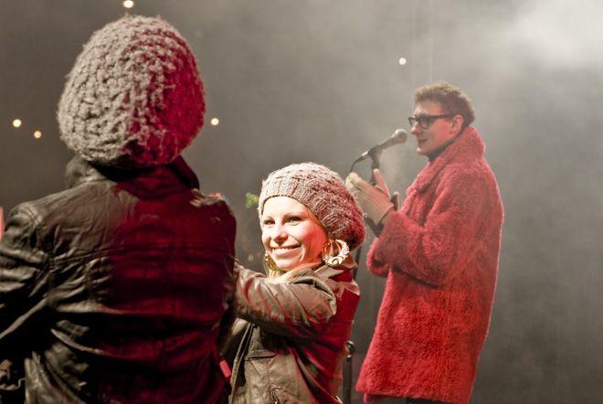 Zespół HooDoo Band podczas WOŚP we Wrocławiu.