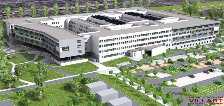 Szpital przy ul. Kosmonautów powstanie - obiecują urzędnicy.