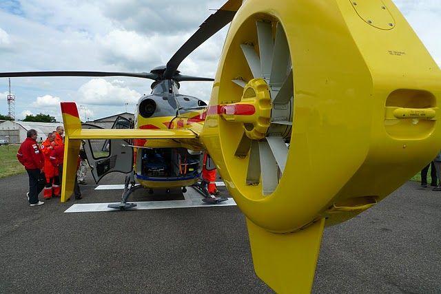 Śmigłowce wykorzystywane są do akcji ratunkowych