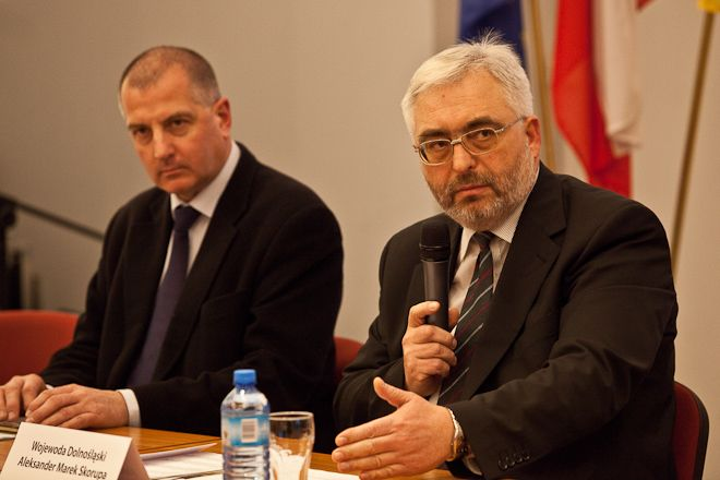 Aleksander Marek Skorupa funkcję wojewody pełnił od grudnia 2010 roku