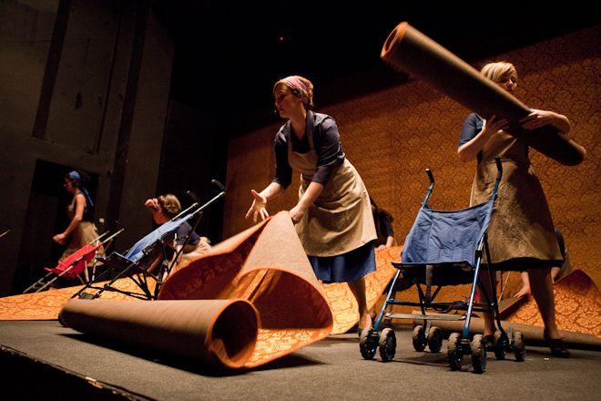 W ubiegłym roku swoją premierą miał m.in. spektakl ''Sztandar ze spódnicy'' w reżyserii Uli Kijak