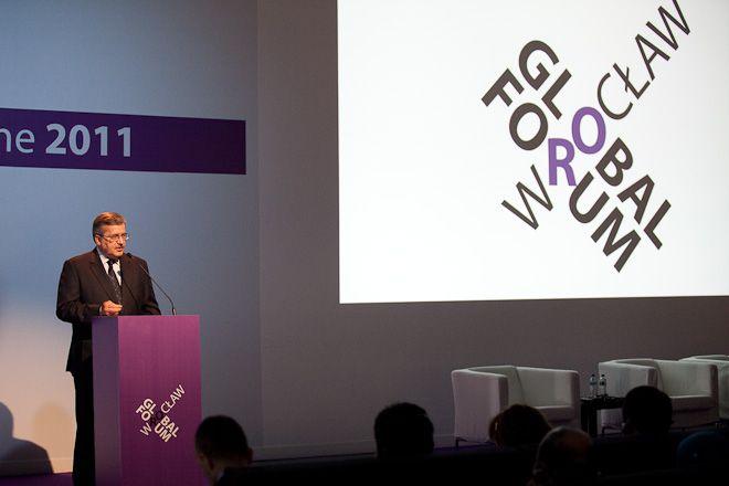 Wrocław Global Forum co roku honoruje znanych polityków