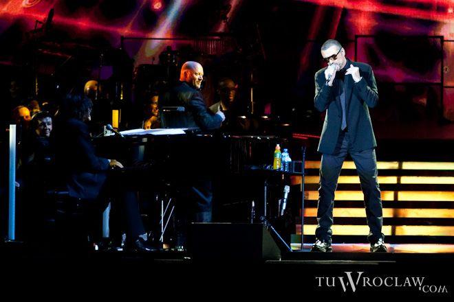 Koncert George\'a Michaela na nowym stadionie był sukcesem, abe
