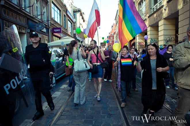 Marsz tolerancji, kilka razy w poprzednich latach przeszedł przez Wrocław, czy pikieta też zgromadzi tyle osób?