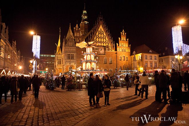 W listopadzie i w grudniu jarmark w sercu Wrocławia to już tradycja