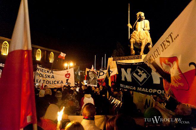 Narodowcy znów szykują manifestację w centrum miasta, archiwum