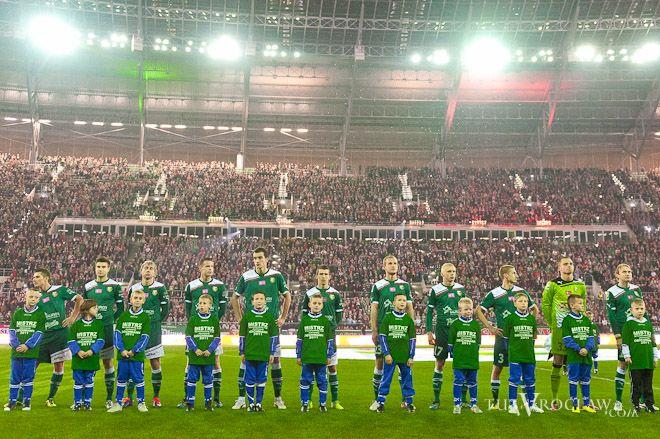 W pierwszym swoim meczu Śląsk na Pilczycach pokonał Lechię Gdańsk
