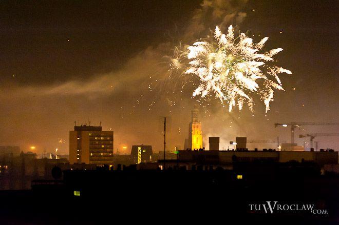Tysiące rac rozświetli wrocławskie niebo na powitanie Nowego Roku