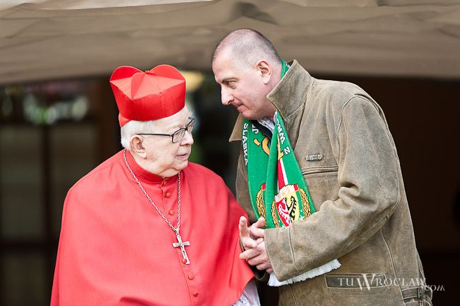 Kardynała Henryka Gulbinowicza lubi odwiedzać Rafał Dutkiewicz