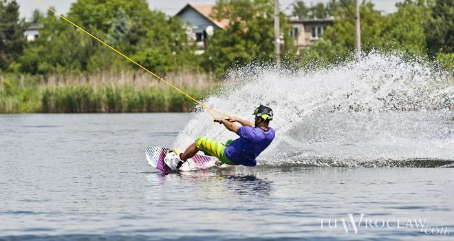 W Wakeparku na Gliniankach kibice będą mogli spróbować różnych sportów wodnych