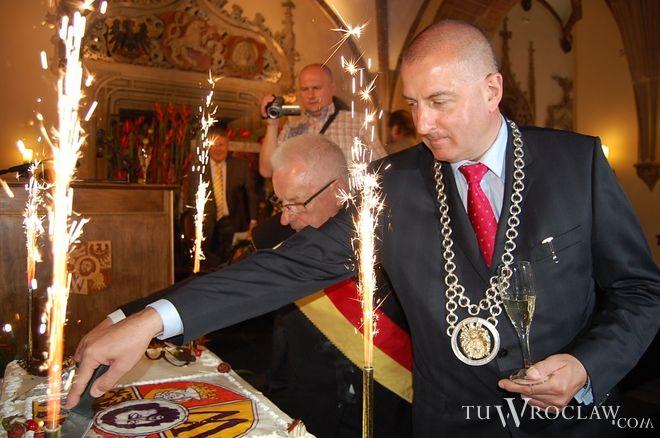 Uroczysta sesja z udziałem prezydenta Wrocławia odbywa się co roku