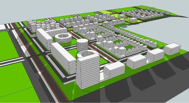 Od roku na projektami osiedla ''Nowe Żerniki'' pracuje kilkudziesięciu architektów