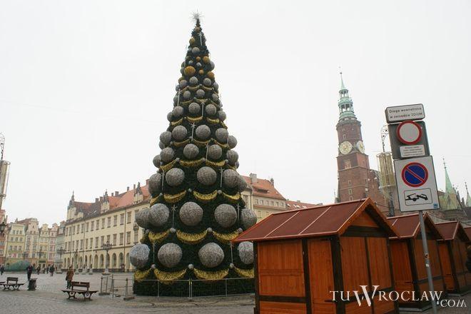 Do świąt jeszcze miesiąc, ale choinka w Rynku już jest
