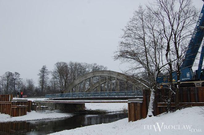 Tymczasowy most Widawski ma już niemal 3 lata