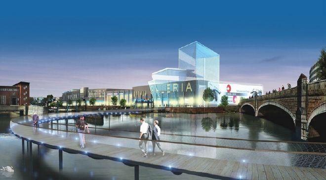 Tak mogłaby wyglądać galeria handlowa przy Księcia Witolda, gdyby wcielono w życie projekt z 2005 roku