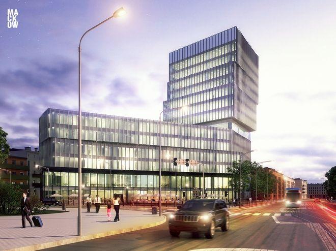 Silver Tower Center to oficjalna nazwa kompleksu, który powstaje przy placu Konstytucji 3 maja