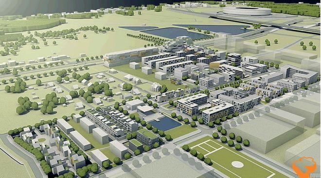Miasto wybrało firmę, która zbuduje drogi na Nowych Żernikach. Prace pochłoną ponad 33 mln złotych