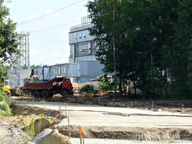 Budowa drogi do Nowego Szpitala Wojewódzkiego we Wrocławiu