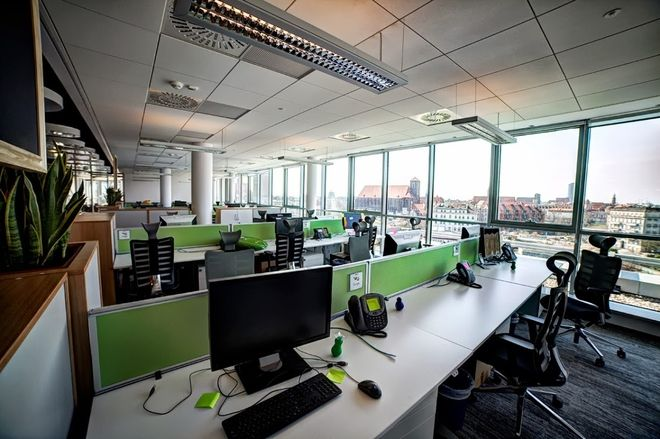 Biura firmy Google we Wrocławiu