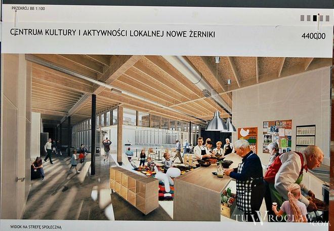 W konkursie na projekt domu kultury na Nowych Żernikach zwyciężyła koncepcja grupy ch+ architekci