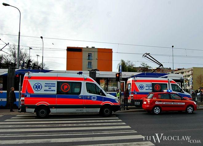 Wypadek miał miejsce na ulicy Legnickiej