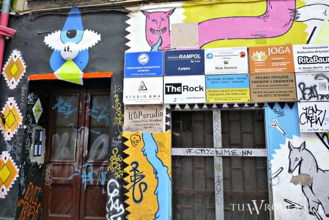 W podwórku przy ul. Ruskiej już działa sporo instytucji kulturalnych. Wkrótce dołączą do nich kolejne