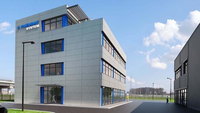 Tak ma wyglądać nowa siedziba spółki Pneumat System