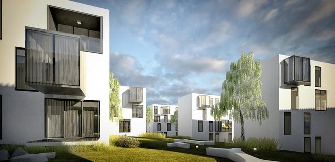 Profit Development chce na Nowych Żernikach postawić 10 kameralnych budynków z ponad setką mieszkań