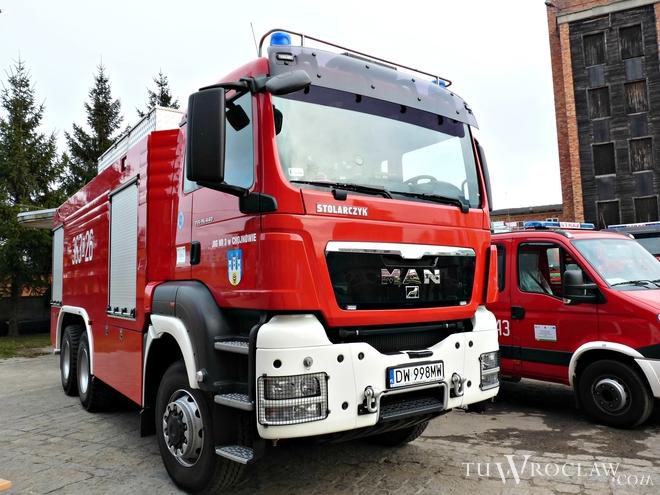 Znów nieodzowna była pomoc dzielnych strażaków