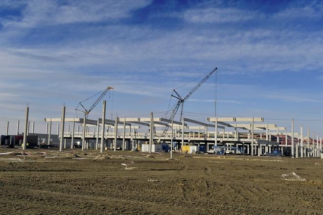 Budowa centrów logistycznych Amazona ruszyła pod koniec 2013 roku