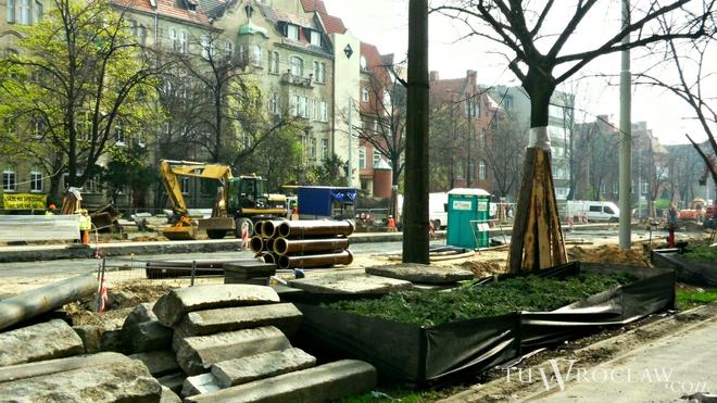 Przebudowa ulicy Curie-Skłodowskiej trwa od stycznia i powoduje spore utrudnienia