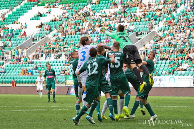 Piłkarze Śląska w tym sezonie wygrywają na własnym boisku