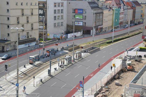 Na ulicy Kazimierza Wielkiego pojawią się pasy rowerowe