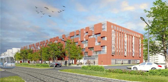 Tak ma wyglądać budynek, który stanie przy ulicy Legnickiej