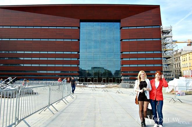 Narodowe Forum Muzyki bardzo podobało się Ani i Anastazji