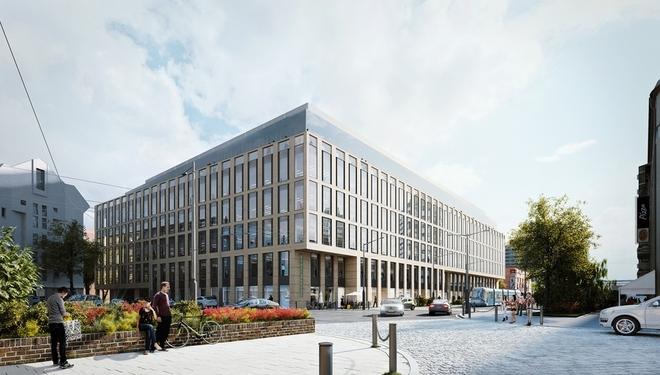Tuż przy Pasażu Grunwaldzkim trwa budowa biurowca Nobilis Business House