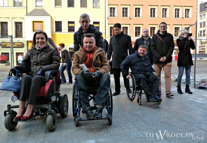 W czwartek niepełnosprawni przetestowali gotowy fragment szpilkostrady