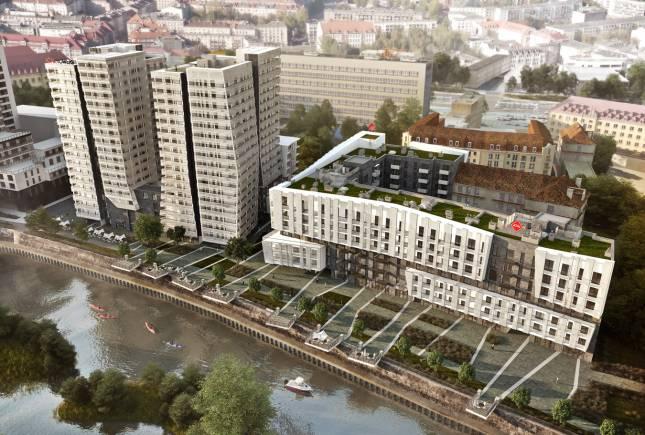 Przy ulicy Sikorskiego wyrośnie kompleks mieszkalno-usługowy z dwoma wieżami